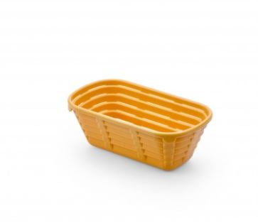BREAD PROOFING BASKET OVAL SHAPE - 500G - Mabrook Hotel Supplies