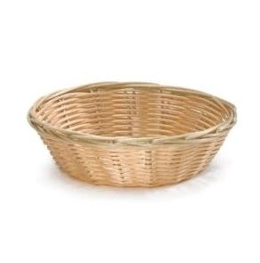 SOLID CORD PLASTIC BREAD ROUND BASKET
