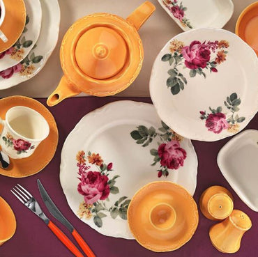 KUTAHYA BREAKFAST SET 42 PCS