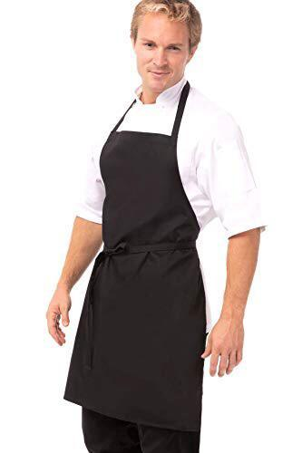 BIB KITCHEN APRON,COLOR:BLACK - Mabrook Hotel Supplies
