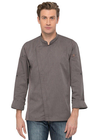 COAT-ESS-MDN-HARTFORD-L/S/,COLOR:GRAPHITE GREY - Mabrook Hotel Supplies