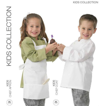 KIDS CHEF JACKET - WHITE - Mabrook Hotel Supplies