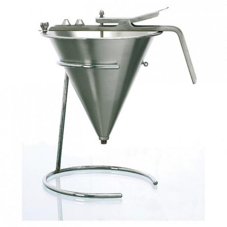 STAINLESS STEEL AUTOMATIC FUNNEL 1.9L - Mabrook Hotel Supplies