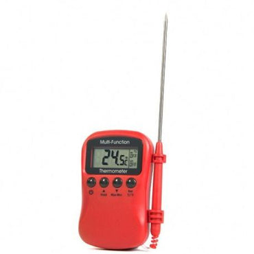 MULTI FUNCTION THERMOMETER RED - Mabrook Hotel Supplies