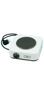 SINGLE PLATE ELECTRIC STOVE, 1000W, PLATE DIM: 14.5cm, 240/5