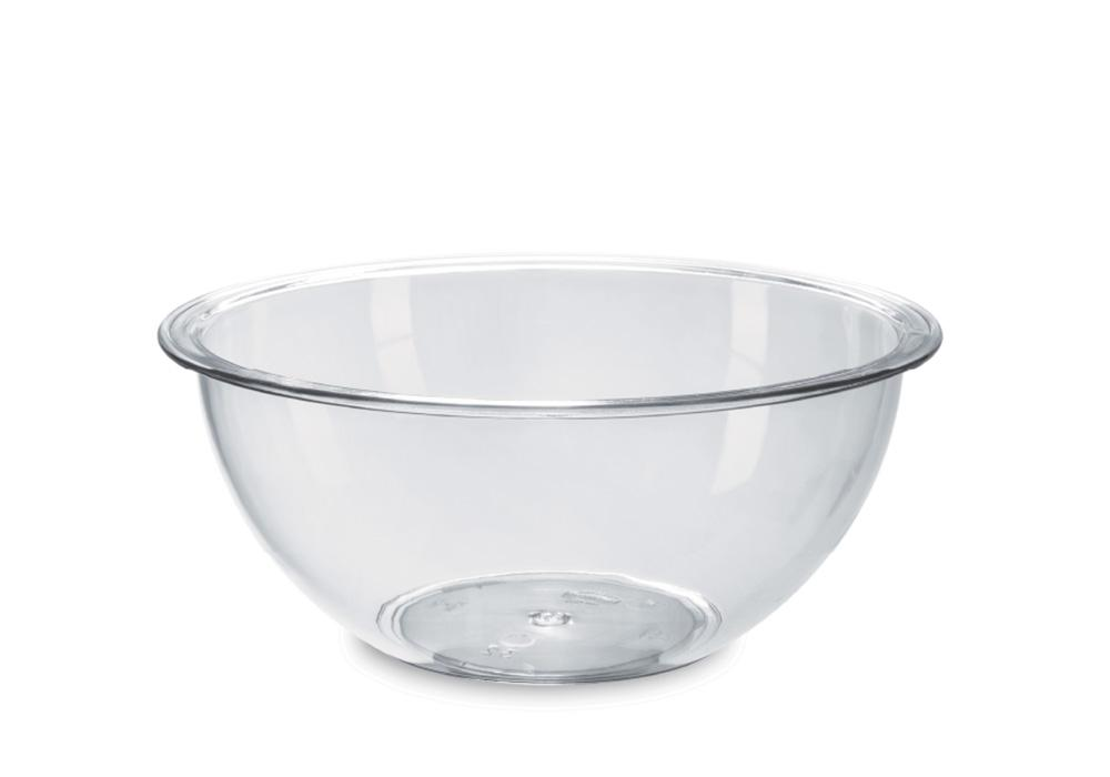CRYSTAL SALAD BOWL 40 CM TRANSPARENT -CRYSTAL SALAD BOWL 40 CM TRANSPARENT - Mabrook Hotel Supplies