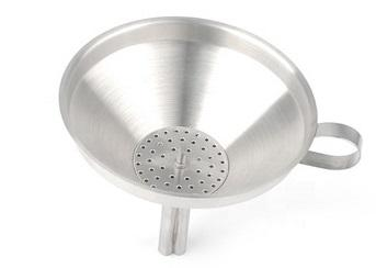 Funnel with removable strainer - Mabrook Hotel Supplies