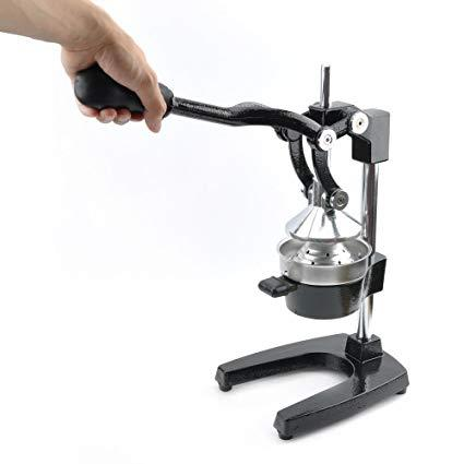 CAST IRON SQUEEZE JUICER W/BLACK PAINTING - Mabrook Hotel Supplies