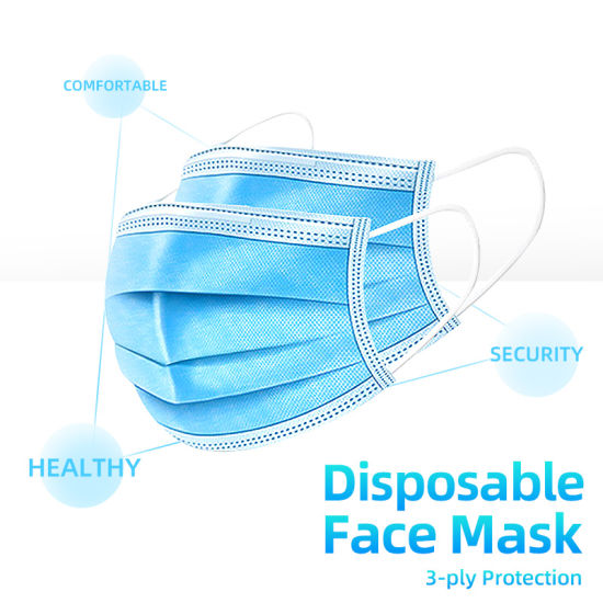Disposable Face Mask ( 50 pcs) - Mabrook Hotel Supplies