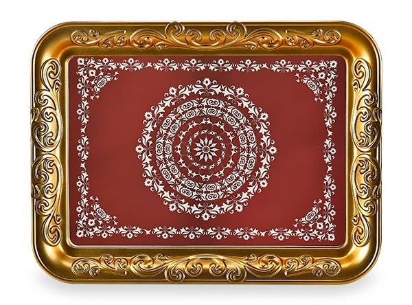RECTANGLE OTTOMAN TRAY - Mabrook Hotel Supplies
