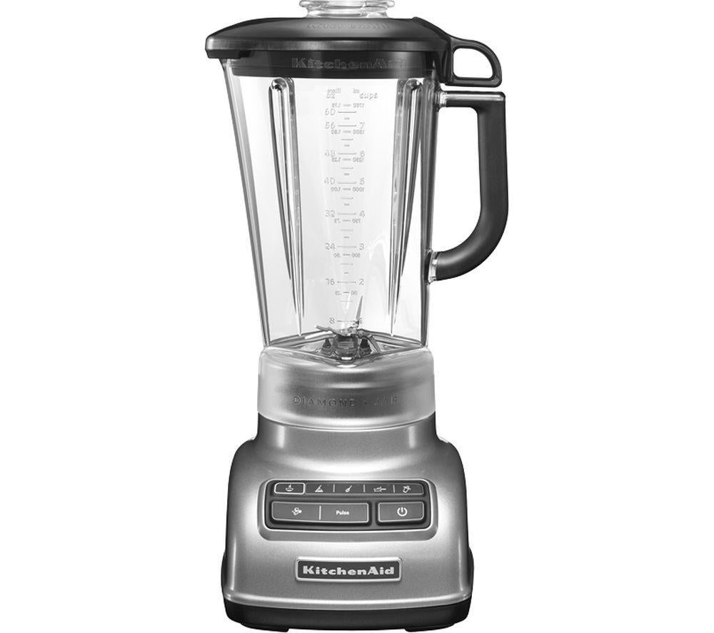 1.75L DIAMOND BLENDER CONTOUR SILVER. - Mabrook Hotel Supplies