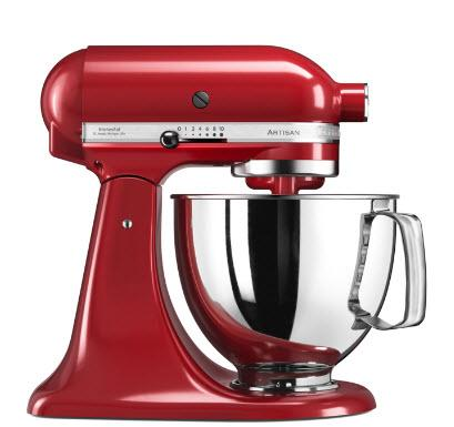4.8L ART STAND MIXER EMPIRE RED - Mabrook Hotel Supplies