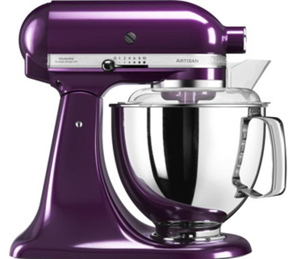 KitchenAid ARTISAN 4.8 L Tilt-Head Stand Mixer- PLUMBERRY