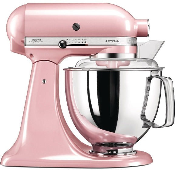 4.8L ARTISAN STAND MIXER SILKY PINK - Mabrook Hotel Supplies