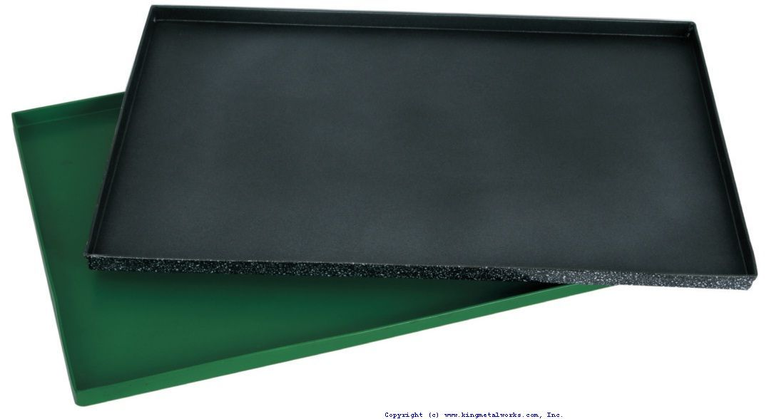 Baking Tray, 600x400x20 mm, with non stick coating.