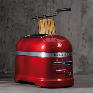 KITCHENAID ARTISAN 2-SLOT TOASTER 5KMT2204 - CANDY APPLE - Mabrook Hotel Supplies