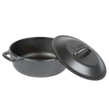 LODGE PRE-SEASONED CAST IRON DUTCH OVEN 2 QUART (1.89 LITERS)