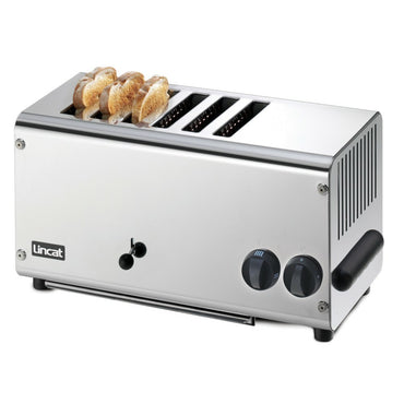 LINCAT ELECTRIC COUNTER TOP SLOT TOASTER - 6 SLOTS - Mabrook Hotel Supplies