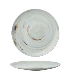 23CM PLATE - HKZ128001 - Mabrook Hotel Supplies