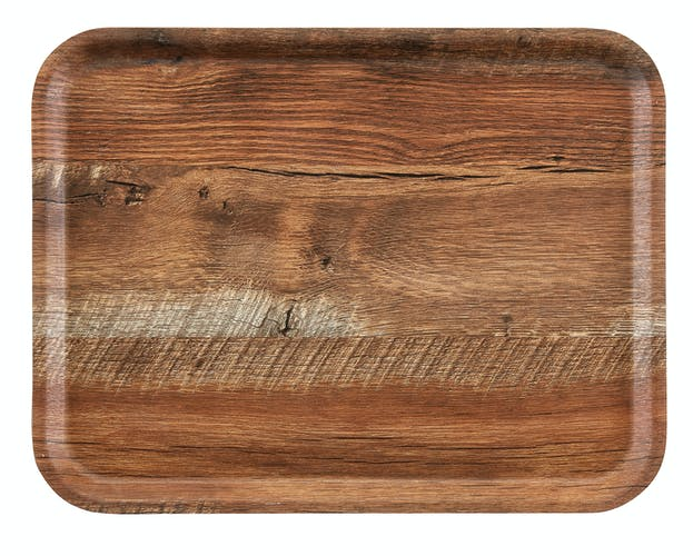 CAMBRO MADEIRA – LAMINATED TRAYS WITH TEXTURED WOOD SURFACE - Mabrook Hotel Supplies