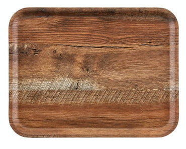 CAMBRO MADEIRA – LAMINATED TRAYS WITH TEXTURED WOOD SURFACE