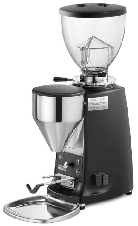 Mazzer Mini Electronic Type B Black Espresso Grinder. - Mabrook Hotel Supplies