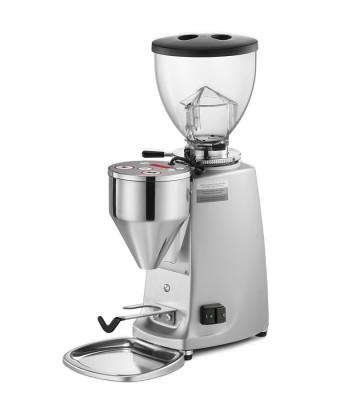 Mazzer Mini Electronic Type A White Espresso Grinder. - Mabrook Hotel Supplies