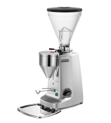 Mazzer Super Jolly Electronic White Espresso Grinder. - Mabrook Hotel Supplies