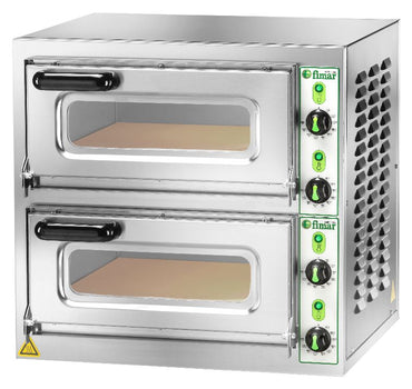 DOUBLE DECK ELECTRIC PIZZA OVEN - Mabrook Hotel Supplies