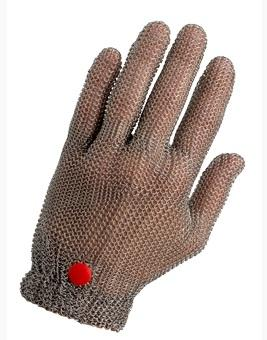 """S/S MESH GLOVE, REVERSIBLE, SIZE: MEDIUM COLOR RED - Mabrook Hotel Supplies"