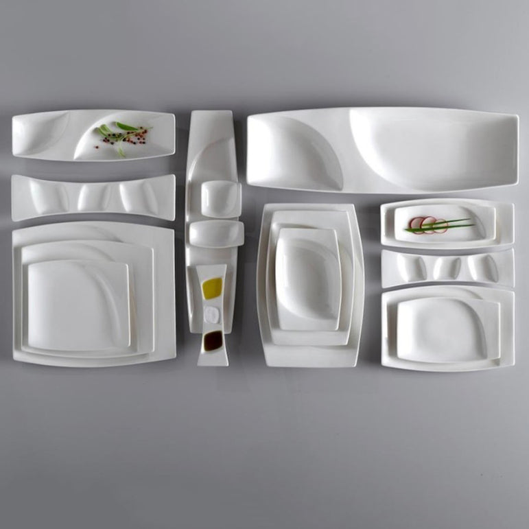 RAK MAZZA MINI SQUARE DISH - Mabrook Hotel Supplies