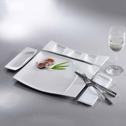 RAK MAZZA SQUARE FLAT PLATE - Mabrook Hotel Supplies