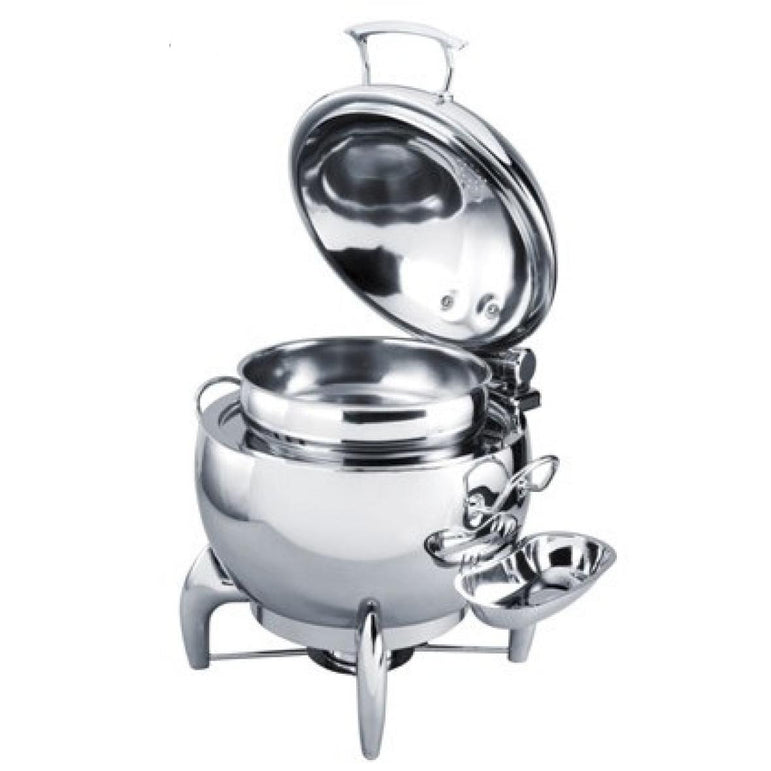 EXQUISITE CHAFING DISH SOUP POT - 11L - Mabrook Hotel Supplies