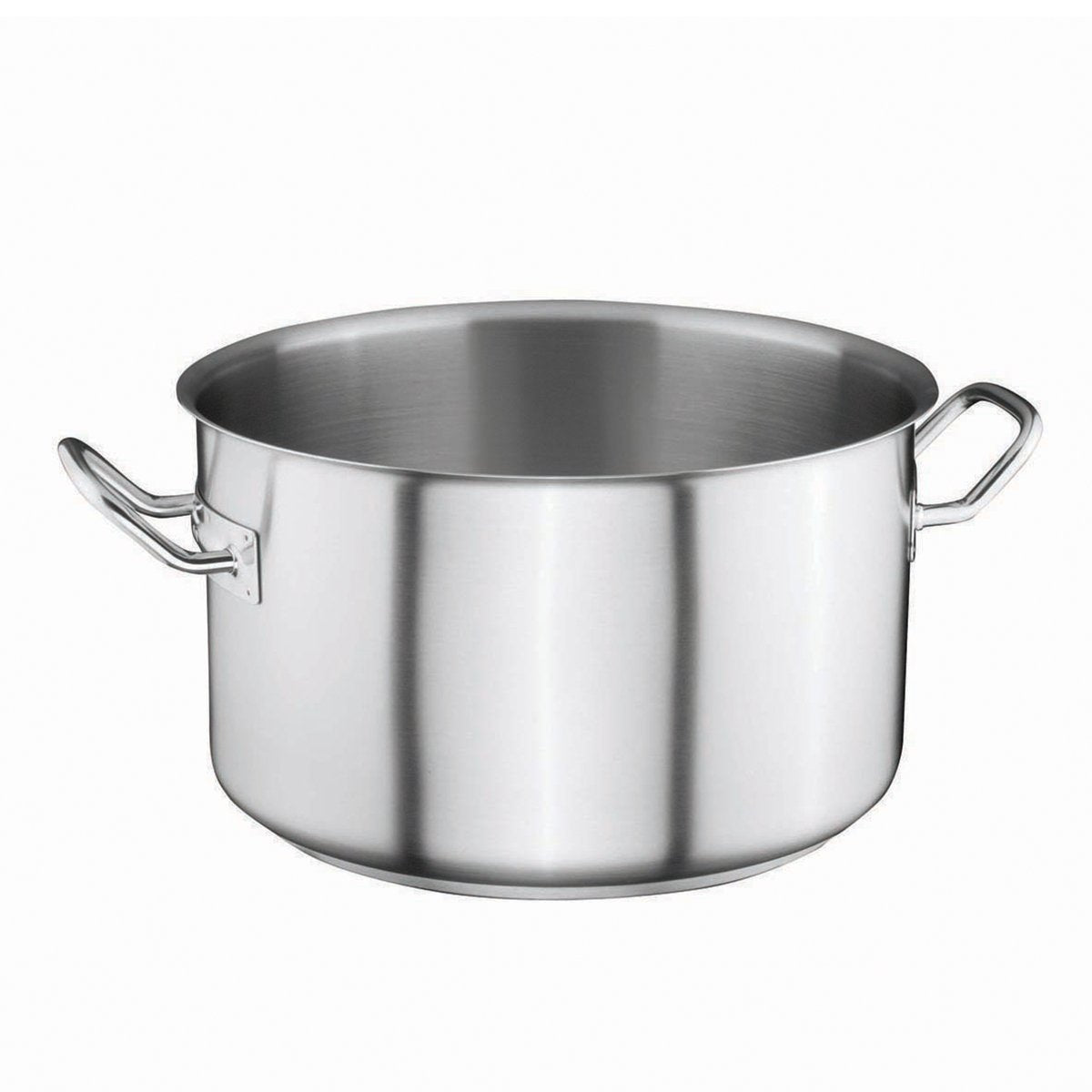 (0121.02019.21) 20*19 STOCK POT SATIN FINISHED, INDUCTION - Mabrook Hotel Supplies