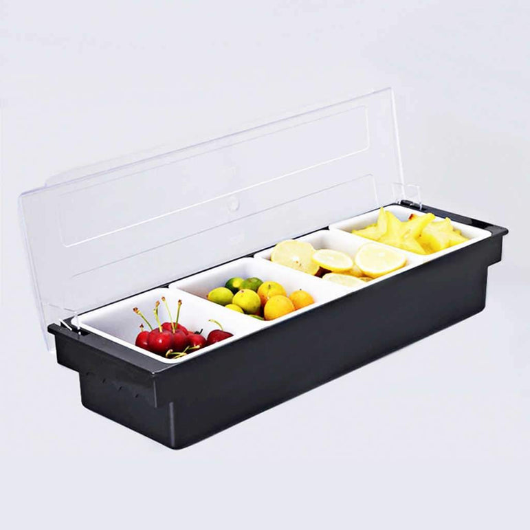 CONDIMENT DISPENSER 4 COMPARTMENTS - Mabrook Hotel Supplies