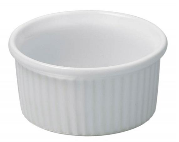 REVOL WHITE RAMEKIN - 6 OZ - Mabrook Hotel Supplies