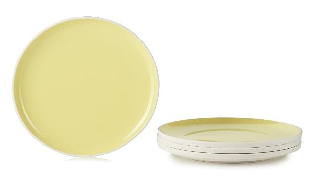 (650643) COLOR LAB DINNER PLATE, CITRUS