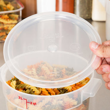 Cambro, Translucent Cover Fit for 2qt & 4qt Food Storage Round Container