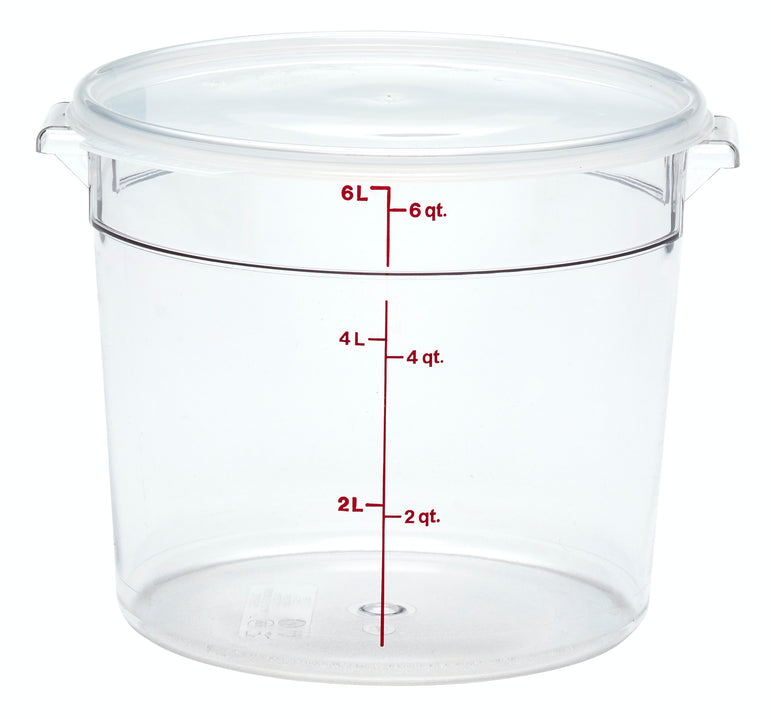 Cambro, Polycarbonate Round Containers - Mabrook Hotel Supplies