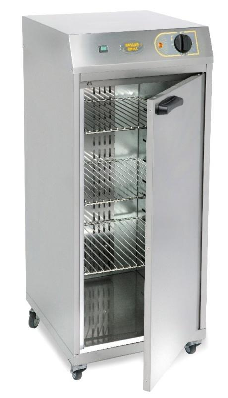 ROLLER GRILL SINGLE DOOR VENTILATED HOT CUPBOARD - Mabrook Hotel Supplies