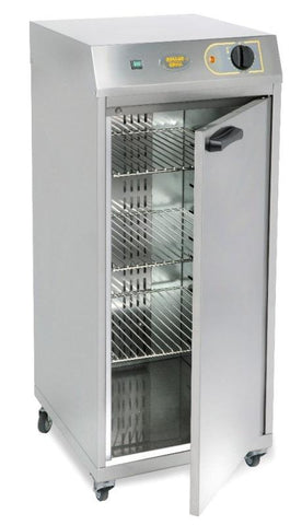 ROLLER GRILL SINGLE DOOR VENTILATED HOT CUPBOARD