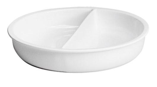 ROYALE PLAIN WHITE PORCELAIN INSERT FOR CHAFING DISH - Mabrook Hotel Supplies