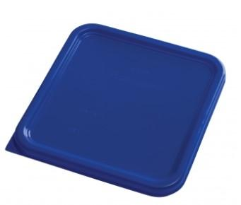 Rubbermaid Square Container Lid - Small Blue - 1980302 - Mabrook Hotel Supplies