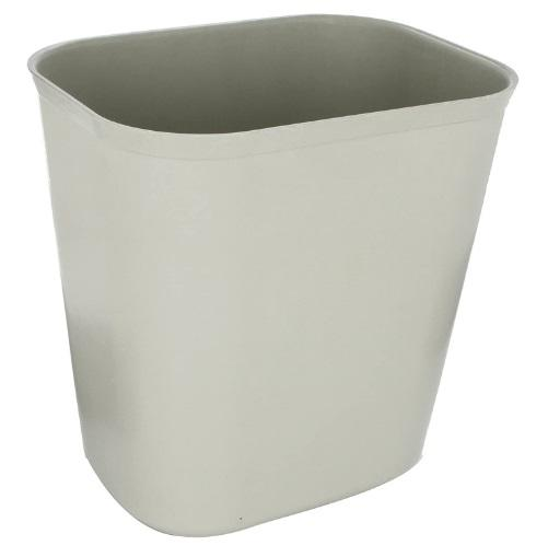 FIRE RESISTANT WASTE BASKET GRAY.