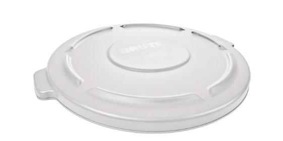 Rubbermaid BRUTE™? 20 GAL LID WHITE - Mabrook Hotel Supplies