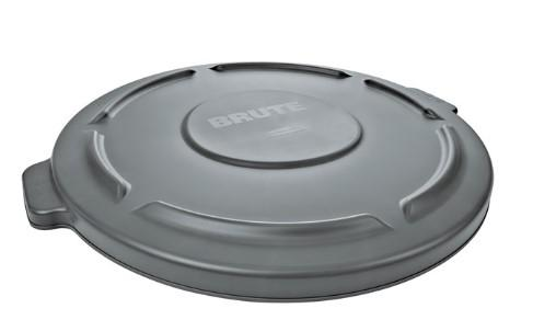 Rubbermaid Brute 32 Gal Lid - Gray - Mabrook Hotel Supplies