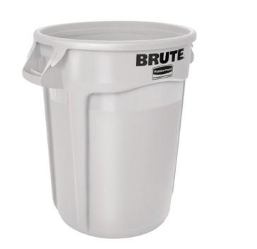 Rubbermaid Brute Vented Container 32 Gal - White - Mabrook Hotel Supplies