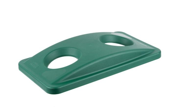 Rubbermaid Rectangular Trash Can Lid - Green