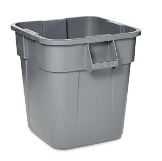 Rubbermaid Brute 28 GAL Square - Gray - Mabrook Hotel Supplies