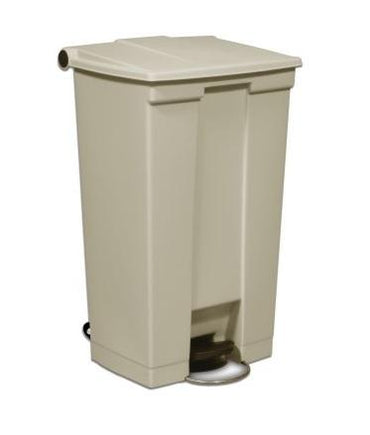 STEP-ON BIN 87L BEIGE - Mabrook Hotel Supplies
